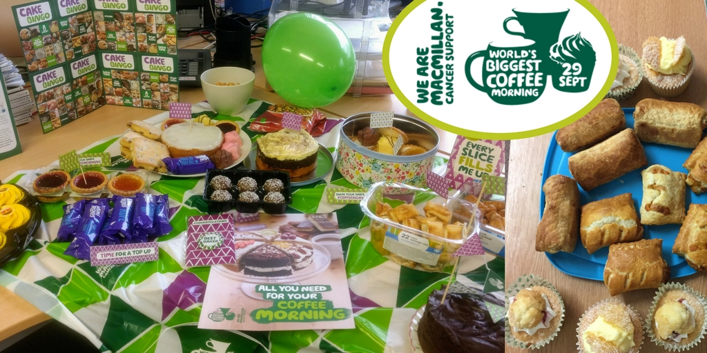 Shropshire's Biggest Coffee Morning with MacMillan Cancer Support