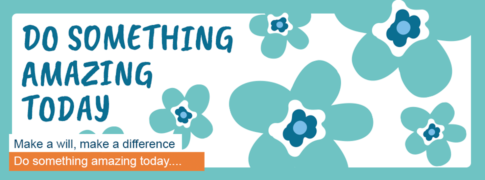 Do something amazing today by making a will with the Severn Hospice