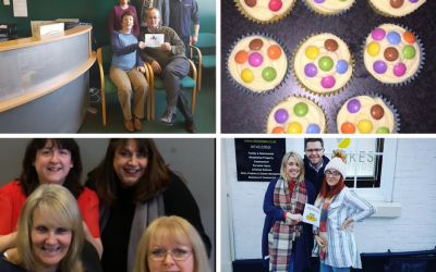 Clarkes' offices rally to support Children in Need