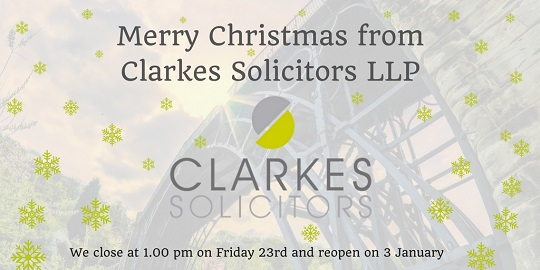 Clarkes' Christmas opening hours