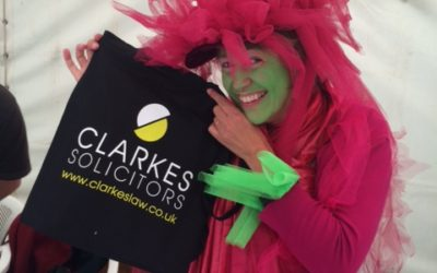 The Clarkes bag travels… competition time…!